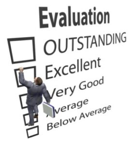 Evaluation-outsanding-excellent-verygood-average