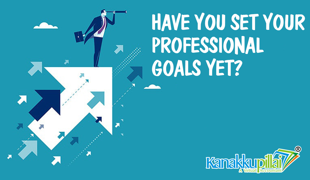 Have you set your Professional Goals yet?