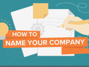 How to name the company