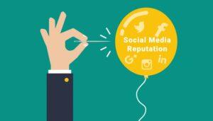 The reputation of Social Media