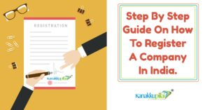 In India, how to register a company from an online portal