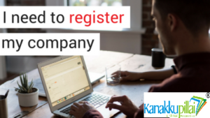 So what is the need of registering the company