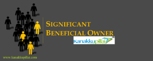 Significant Beneficial Owner and Declaration
